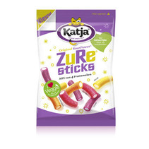 Katja - Zure Sticks 275G, 12 Zakken