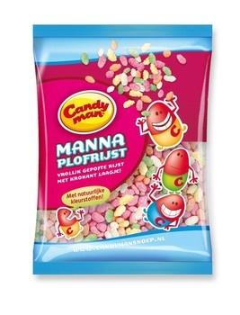 Candyman Candyman - Manna Natuurlijk 12X260G, 12 Zakken