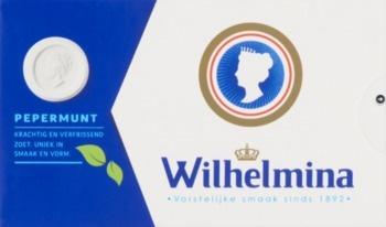 Wilhelmina Wilhelmina - Wilhelmina Pepermunt 100Gr, 12 Pack