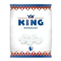 King - Pepermunt 200Gr, 12 Zakken
