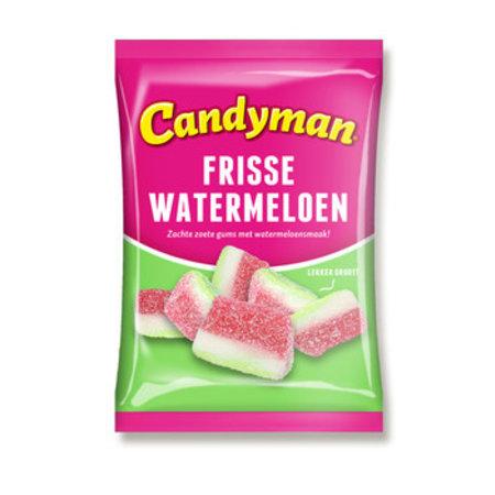 Candyman Candyman - Candyman Frisse Watermeloen, 12 Zakken