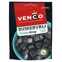 Venco - Venco Suikervrij Zout 100G, 12 Zakken