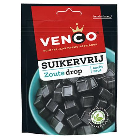 Venco Venco - Venco Suikervrij Zout 100G, 12 Zakken