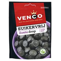 Venco - Venco Suikervrij Zoet 100G, 12 Zakken