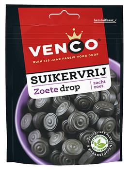 Venco Venco - Venco Suikervrij Zoet 100G, 12 Zakken