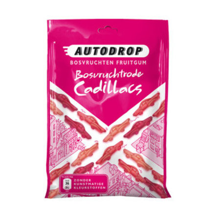 AUTODROP Autodrop - Autodrop Mixzak Rode Cadillacs, 15 Zakken