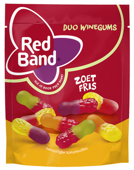 Red Band Red Band - Rb Duo Wg Zoet Fris 10X235G, 10 Zakken