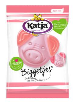 Katja Katja - Vv Biggetjes 300G, 12 Zakken