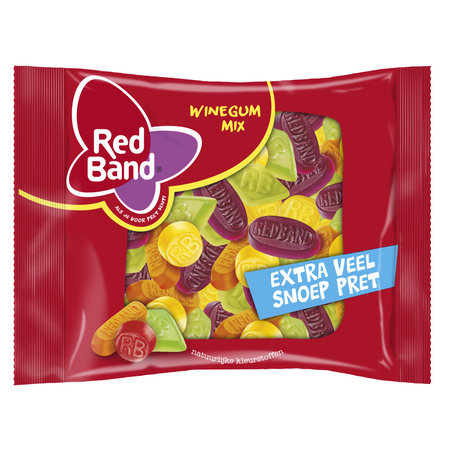 Red Band Red Band - Mix Winegums 400Gr, 12 Zakken
