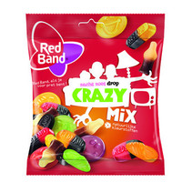 Red Band - Snoepmix Crazy 370Gr, 12 Zakken