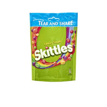 Skittles Skittles - Skittles Stazak Crazy Sours, 14 Zakken
