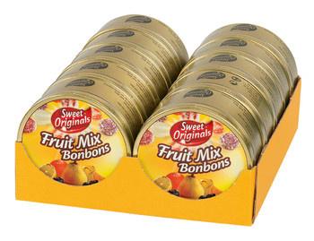 Sweet Originals Sweet Originals - Fruitmix Bonbons 200G, 10 Blikken