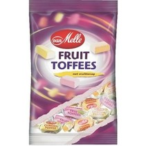 Van Melle - Toffees Tr.Wrapzk 250Gr Fruit, 14 Zakken