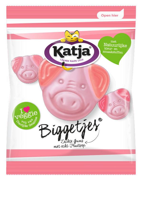 Katja Katja - Kv Biggetjes 70Gr, 24 Zakken