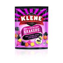 Klene - Klene Krakers Drop & Fruit, 10 Zakken