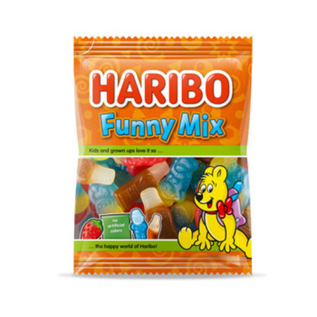 Haribo Haribo - Cv Funny Mix 250G, 12 Zakken