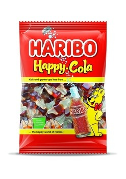 Haribo Haribo - Happy Cola 250G, 10 Zakken
