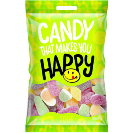 Happy Happy - Happy Zure Snoepmix 20X75G, 20 Zakken