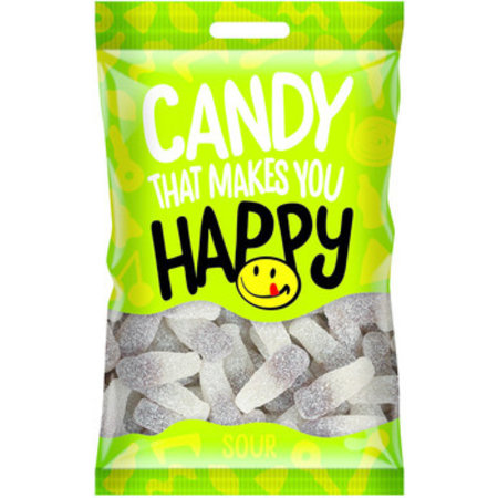 Happy Happy - Happy Zure Flesjes 20X75, 20 Zakken