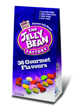 The Jelly Bean Factory The Jelly Bean Factory - Jbf Flavour Box 225G, 12 Geschenkverpakkingen