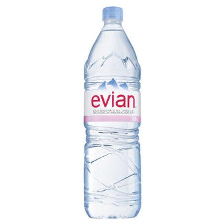 Evian Evian - Evian Mineraalwater 1,5Lt Pet, 6 Flessen