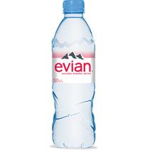 Evian - Evian Mineraalwater 50Cl Pet, 24 Flessen