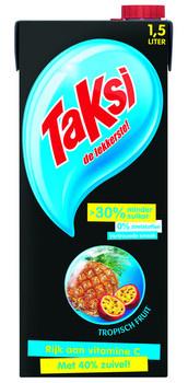 Taksi Taksi - Taksi Tropisch Fruit 1,5Lt Pak, 8 Pack