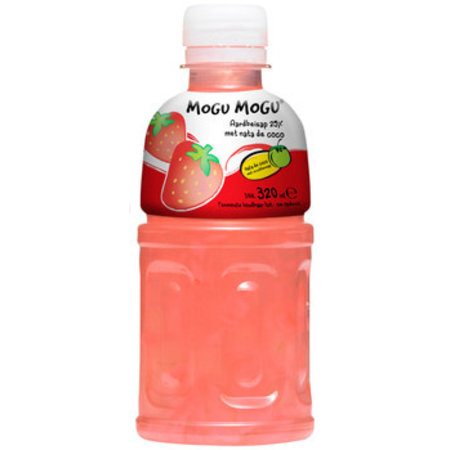 Mogu Mogu Mogu Mogu - Mogu Mogu Aardbei 32Cl Pet, 6 Flessen