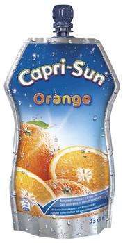 CapriSun Caprisun - Capri S Orange Pouch 33Cl Pak, 15 Pack