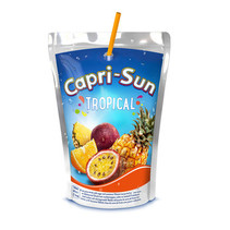 Caprisun - Capri S Tropical 10Pk 20Cl Pak, 4 Pack