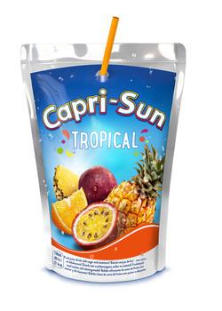 CapriSun Caprisun - Capri S Tropical 10Pk 20Cl Pak, 4 Pack