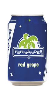 Fernandes Fernandes - Fernandes Red Grape 33Cl Blik, 12 Blikken