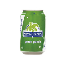 Fernandes - Fernandes Green Pun 33Cl Blik, 12 Blikken