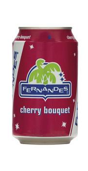 Fernandes Fernandes - Fernandes Cherry 33Cl Blik, 12 Blikken