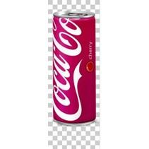Coca Cola - Coca-Cola Cherry 25Cl, 24 Blikken
