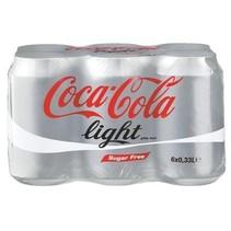 Coca Cola - Coca Cola Light 6Pk 33Cl Blik, 4 6 Pack