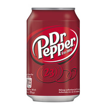 Dr Pepper - Dr Pepper 33Cl Blik, 24 Blikken