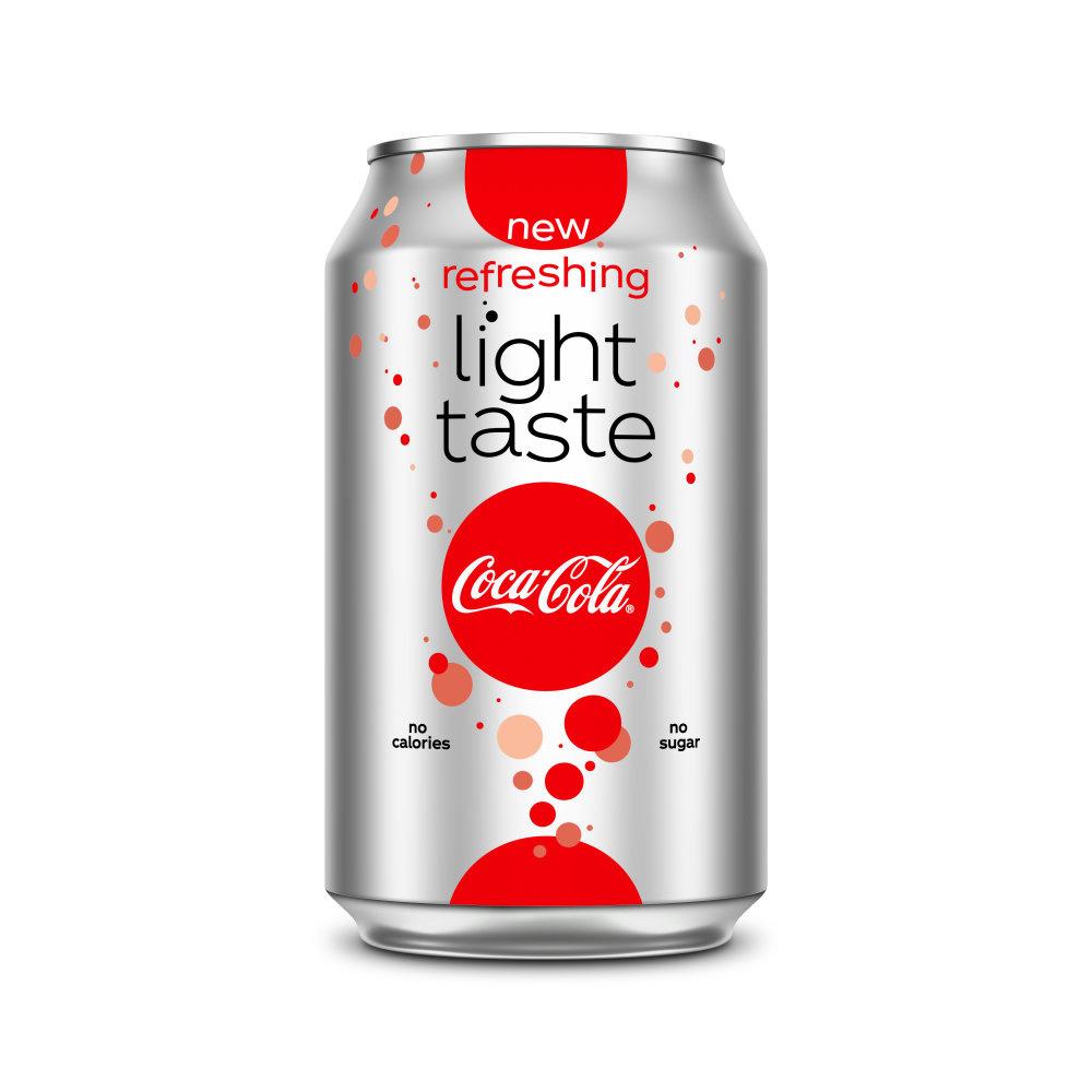 Coca Cola Coca Cola - Coca Cola Light 33Cl Blik, 24 Blikken
