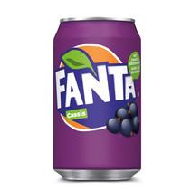 Fanta - Fanta Cassis 33Cl Blik, 24 Blikken