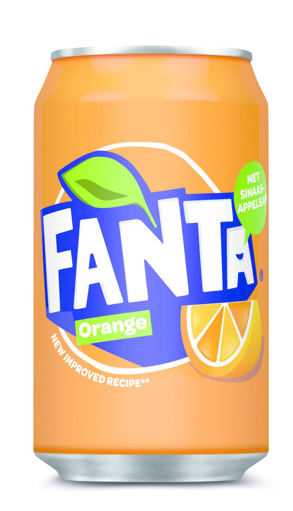 Fanta Fanta - Fanta Orange 33Cl Blik, 24 Blikken