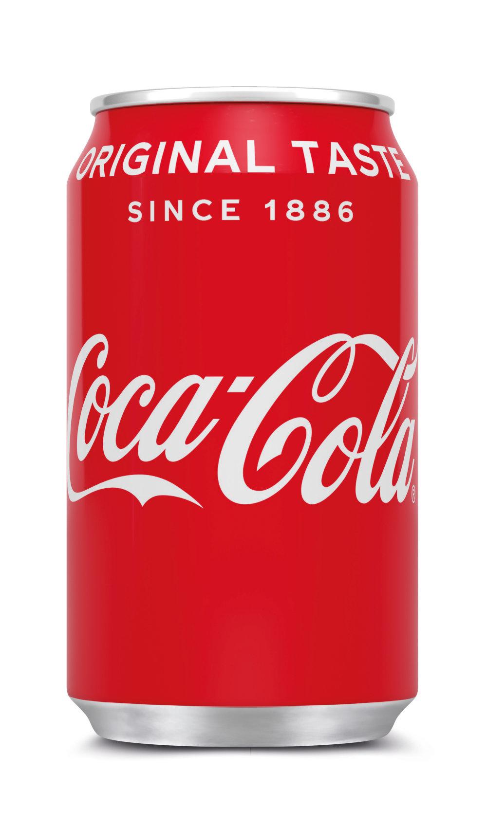 Coca Cola Coca Cola - Coca Cola Regular 33Cl Blik, 24 Blikken