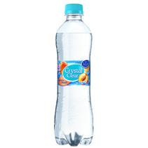 Crystal Clear - Cr Clear Peach 50Cl Pet, 6 Flessen