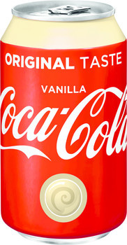 Coca Cola Coca Cola - Coca Cola Vanilla 33Cl Blik, 24 Blikken