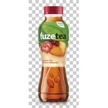 Fuze - Fuze Ice Tea Bl. Peach 40Cl Pt, 12 Flessen