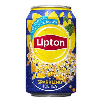 Liptonice Liptonice - Ice Tea Sparkling 33Cl Blik, 24 Blikken