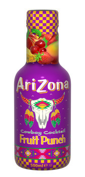 Arizona Arizona - Arizona Juice Fruit Punch 50Cl, 6 Flessen