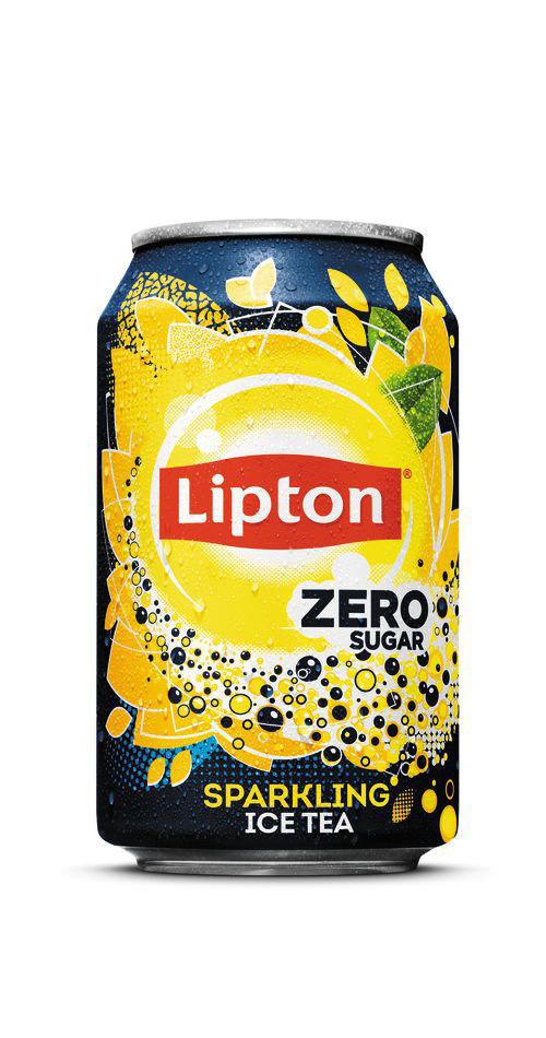 Liptonice Liptonice - Ice Tea Spark Zero 33Cl Blik, 24 Blikken