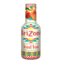 Arizona - Arizona Ice Tea Peach 50Cl, 6 Flessen