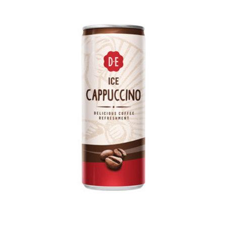 Douwe Egberts Douwe Egberts - Ice Cappuccino 25Cl Blik, 12 Blikken