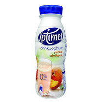 Optimel - Optimel Perzik/Abrik Pet 33Cl, 8 Flessen